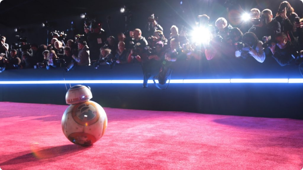 premiere of Star Wars The Last Jedi